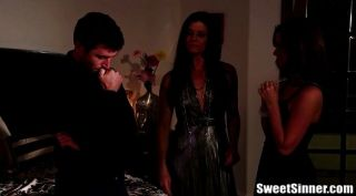 Lily Carter And India Summer Insane Threesome