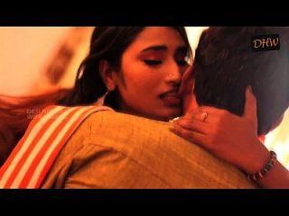 Telugu Aunty  With A Lover Boy