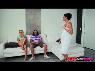 India Summer And Kate England Nasty Threesome Session