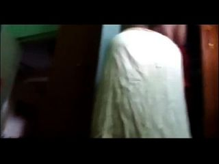 Desi Mature Telugu Aunty Vani Wearing Blouse Captured By Husband