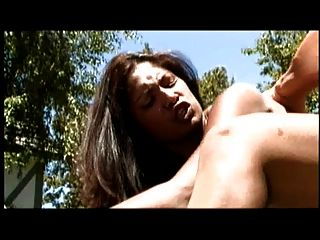 Indian Jazmin Chaudhry Outdoor Fuck