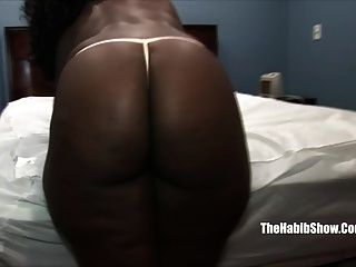 Thick Black Chocoalte Fucked By Hairy Paki