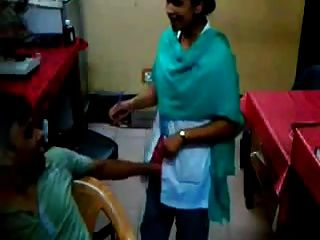 Technician Finguring Lady Doctor In Sonaimuri Hospital