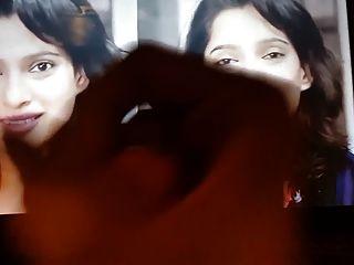 Priya Bapat (marathi Actress) Oiled Dick Cum Tribute #1