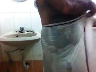 Str8 Indian Daddy Shower Time