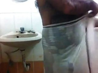 Hot Indian Daddy Bathing
